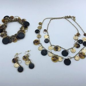 Coldwater Creek Necklace/Bracelet/Earring Set